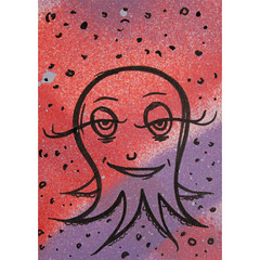 ACEO - inky octopus