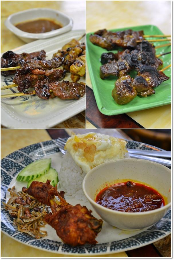 Satay Lembu, Satay Kambing, Nasi Lemak