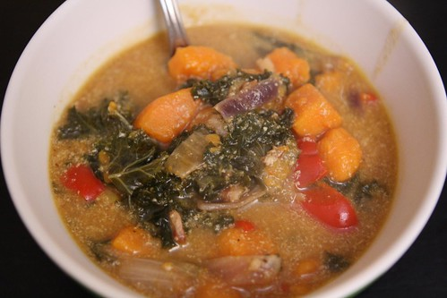 Sweet Potato and Kale Chowder