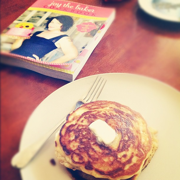 FYI, @joythebaker's single lady pancakes are amazing