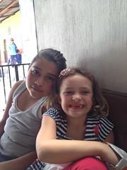 Breysi and Bella in Zacapa