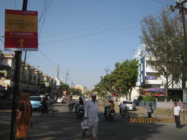 Road to Kalpataru Serenity, 2 BHK & 3 BHK Flats at Manjri, opp. Navratna Mangal Karyalay, Mahadev Nagar, Pune 412 307 - 2