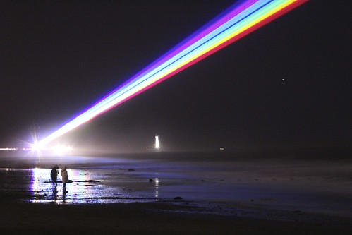 Ever seen a rainbow at night?