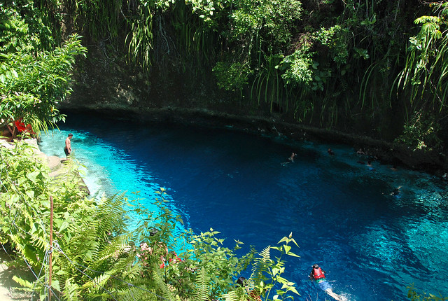 Enchanter River in Hinatuan