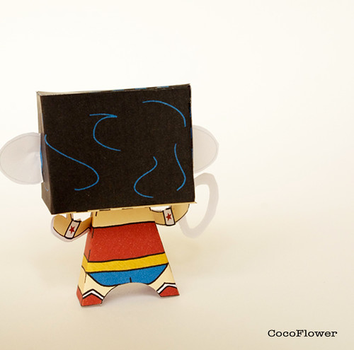 Paper toy surprise
