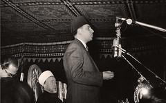 مؤتمر العالم الاسلامي الجلسه العامه الاولى