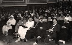 في الصف الأول من الحضور  - تطوان - 1975