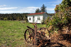 Old house, Ruru, West Coast, New Zealand