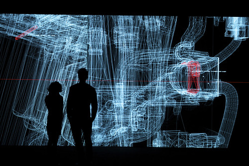 Data.anatomy [civic], a new audiovisual installation by Ryoji Ikeda at MUMA (Kraftwerk) Berlin from 19.04.12 – 01.05.12