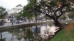 Part of the moat surrounding the historical city centre of Chiang Mai