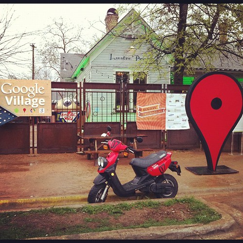 At the google village #sxsw