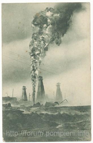 incendiu petrolier Moreni -1929