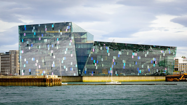 'Harpa Concert Hall and Conference Center', Reykjavik, Islândia