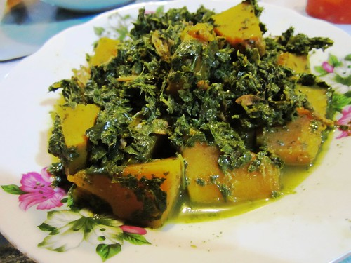 STP's tapioca leaves & pumpkin
