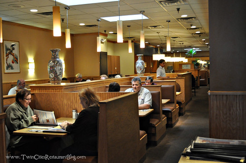 Dining Room at House of Wong ~ Roseville, MN