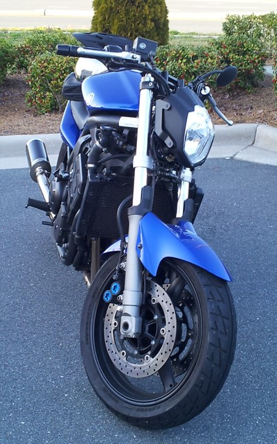 Blue OES Frame Sliders Yamaha FZ1 2001 2002 2003 2004 2005