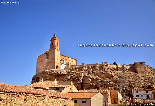 Iglesia de Paracuellos de Jiloca (Zaragoza, Aragón)