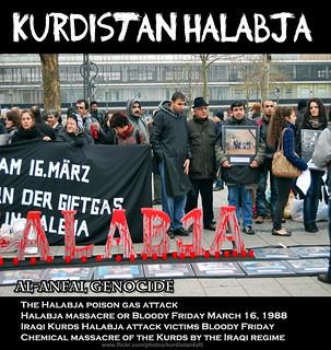 16 March 1988 Halabja kurd