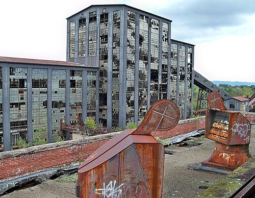 Huber Breaker Ruins:  The Art of Industrial Decay