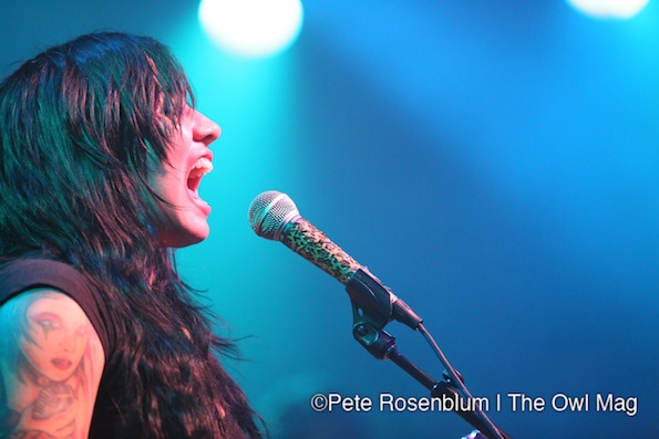 Girl In A Coma @ The Independent, SF 5/1/12