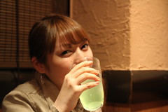 nose, drinking, face, skin, sweetness, head, drink, person, organ,