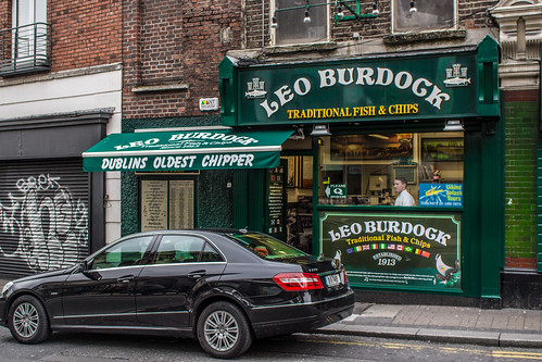 Dublins Oldest and Best Chipper (Chip shop) - Leo Burdock by infomatique
