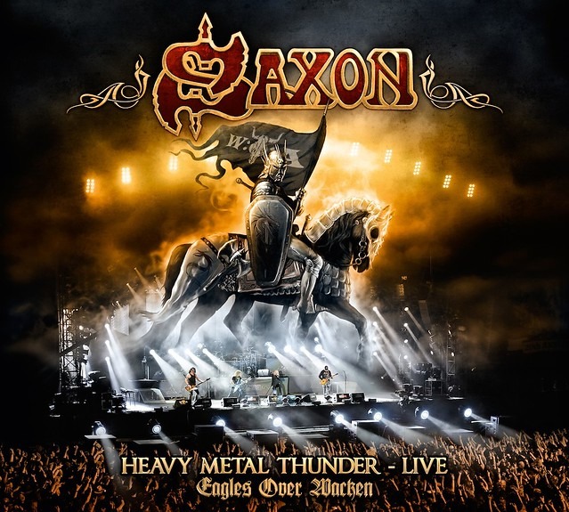 Saxon Heavy Metal Thunder DVD competition