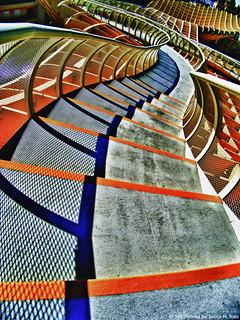 Bajando de las setas....(Metropol Parasol Sevilla)