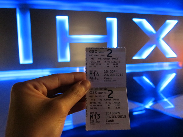 1st Day Movie - Hunger Games