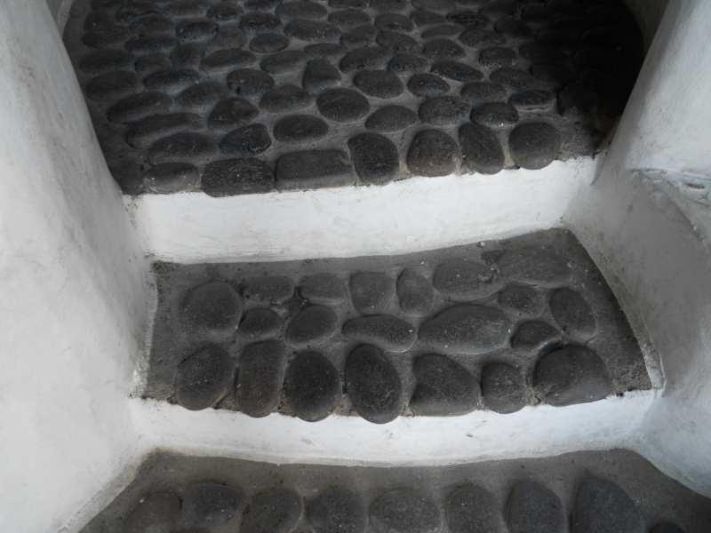 Escalera en jardines Omar Sharif Lanzarote 22