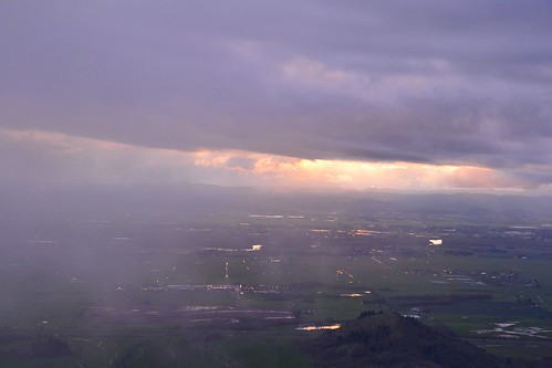 sunset fog clouds oregon nikon april d3100
