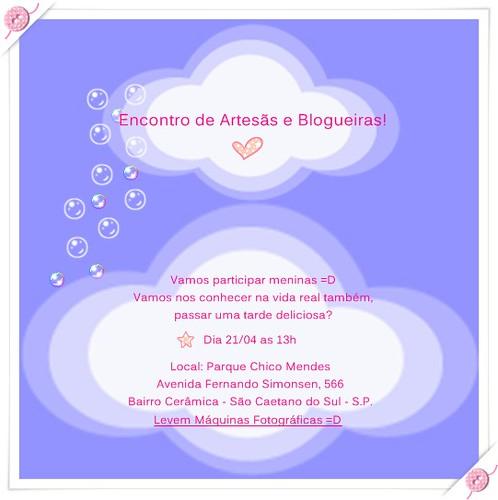 Encontro de Artesãs =D by Entre Feltros e Tecidos