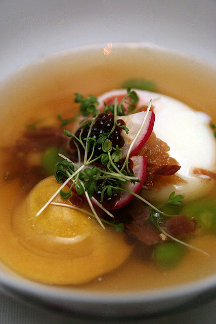 Chef Stephan Zoisl's take on the pork rib soup