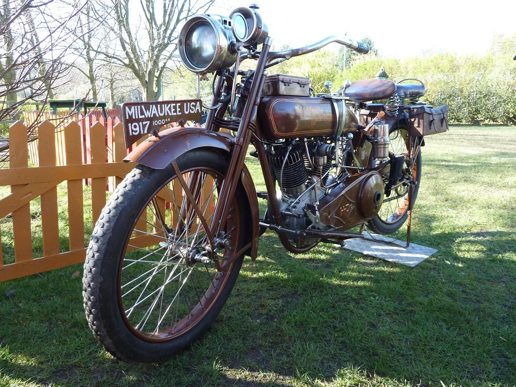 1917 Harley Davidson