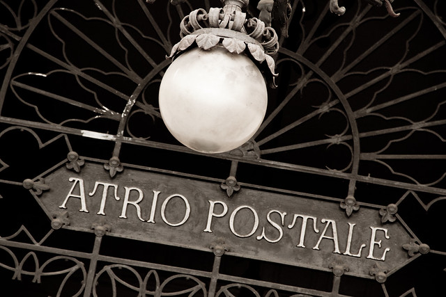 Perugia - Atrio Postale