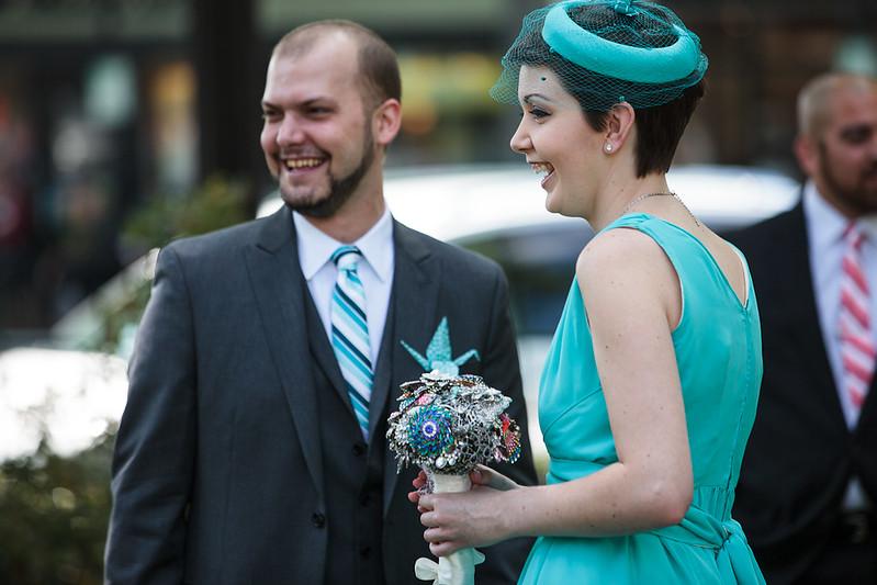 Geeky wedding vow ideas from @offbeatbride