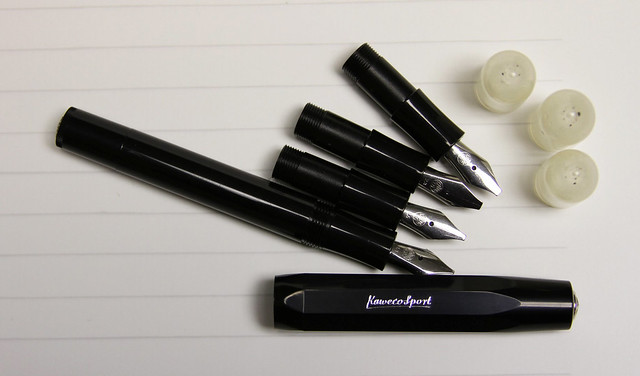 gourmet pens review kaweco calligraphy pen set black