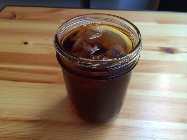 Unsweetened black iced tea - Galette 88