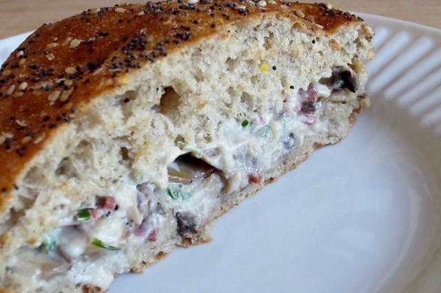 sandwich #27: stuffed mushroom