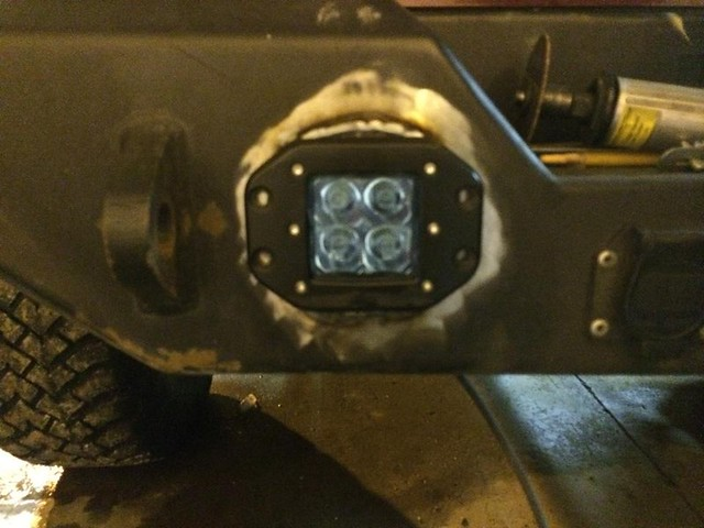 Jeep Grand Cherokee Forum >> Installed flush mount LED reverse lights - JKowners.com ...