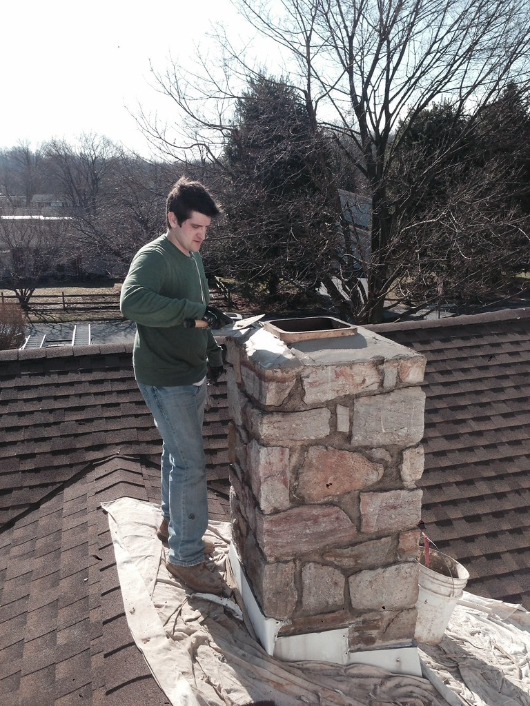 Cast In Place Chimney : Chimney caps and covers home hearth masonry