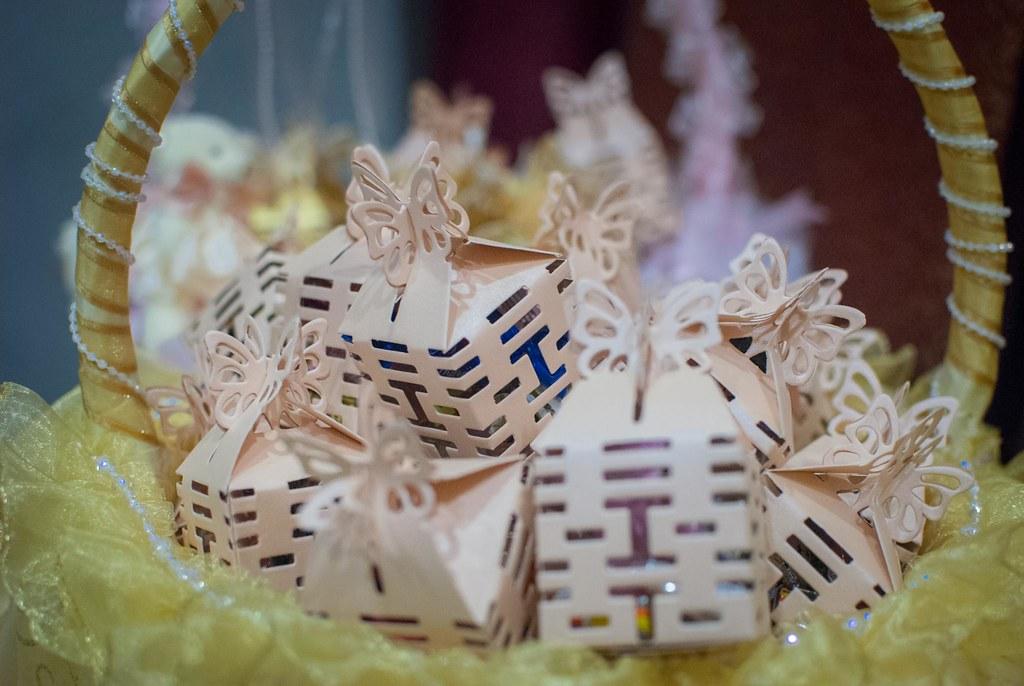 婚禮佈置:喜糖盒