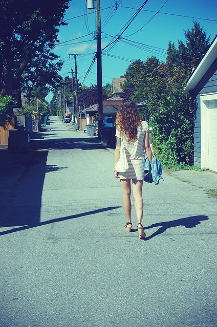 Walkin away