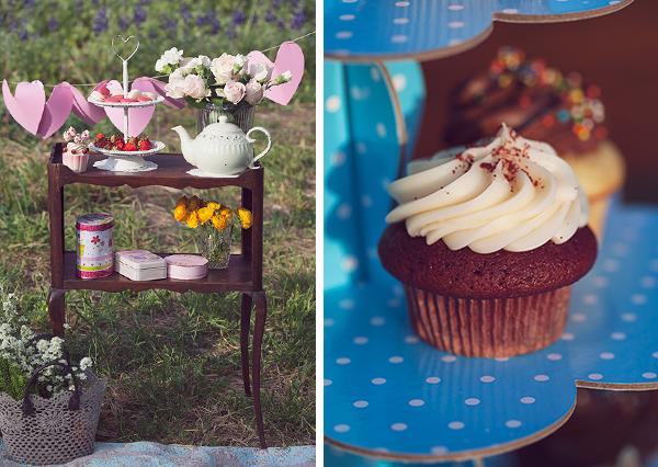 birthday, cupcakes, birthday picnic, fashion blog, בלוג אופנה, אפונה בלוג אופנה, קאפקייקס, פיקניק יום הולדת