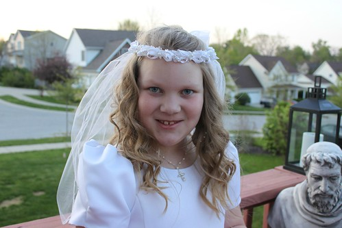 Ellie First Communion 3