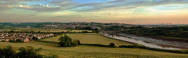 River Usk Panorama