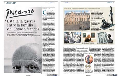 14e03 Guerra entre la familia Picasso y el Estado francés