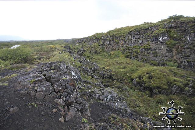 ISLANDIA - Thingvellir,  Þingvellir. Hrafnagjá.