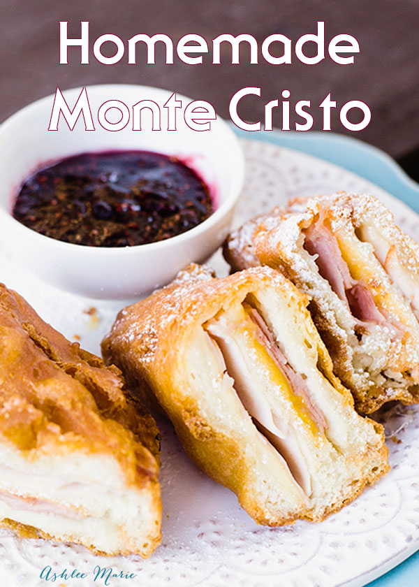 it doesn't get better than a delicious monte cristo sandwich, now you can make your own at home