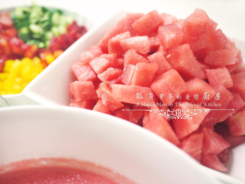 孤身廚房-西班牙西瓜冷湯9
